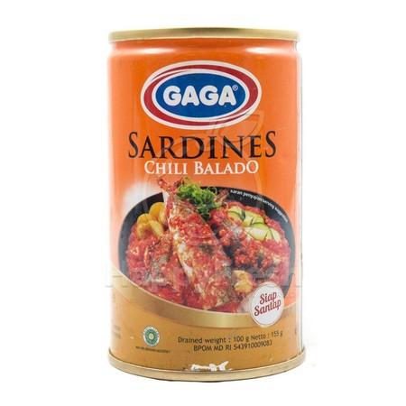 Sarden Sambal Balado Merupakan Sarden Dalam Kaleng Yang Berkualitas. Terbuat Dari Ikan Sarden Segar Yang Diolah Dengan Berbagai Bumbu Khas Pilihan. Sarden Ini Memiliki Kandungan Omega 3, Vitamin D Dan Kalsium.