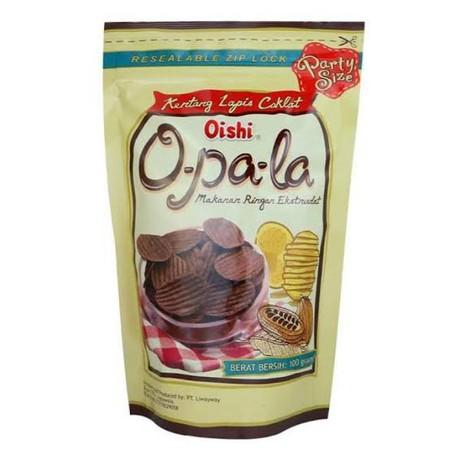 OISHI Opala Kentang Lapis Coklat 100gr merupakan produk cemilan dari OISHI. Opala Kentang ini memiliki rasa yang enak dan lezat membuatnya cocok untuk dijadikan cemilan. Selain itu, produk ini ideal dinikmati bersama keluarga.