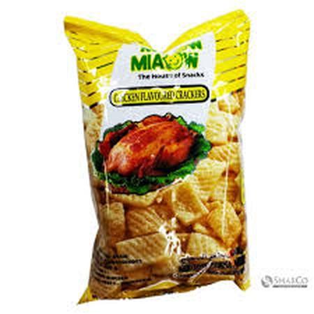 MIAOW MIAOW Chicken Flavoured Snack merupakan Snack dengan cita rasa gurih dan varian rasa yang unik dapat memanjakan lidah dan tentunya mudah dibawa kemana mana sehingga dapat dinikmati oleh siapapun.