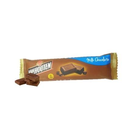 Van Houten Chunky Milk 30gr merupakan coklat premium yang lezat yang merupakan perpaduan cokelat dan kandungan susu. Sangat praktis untuk dikonsumsi dan memiliki nilai gizi yang tinggi.