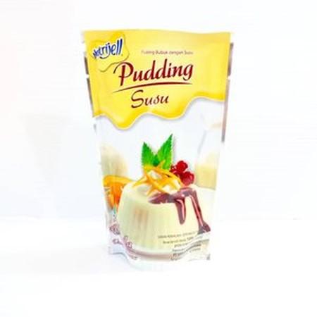 Nutrijell Rasa vanilla Pudding Bubuk dengan Susu merupakan salah satu varian puding bubuk dengan susu dari Nutrijell dengan rasa vanila yang nikmat. Terbuat dari kombinasi agar bubuk berkualitas, susu dan gula asli untuk menghasilkan puding dengan kekenya
