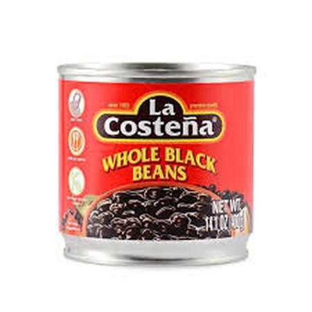 Kacang kedelai hitam dalam saus tomat Produk impot dari Mexico Isi: 400 gr