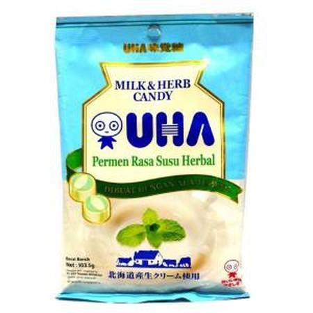 Uha Mint Milk Candy 103 Gr Uha Mint Milk Candy 103 GrAdalah Permen Susu Dengan Rasa Mint Yang Dibuat Bahan-Bahan Yang Berkualtas Sehingga Menghasilkan Cita Sara Yang Lezat Dan Nikmati, Diproses Secara Higienis Dengan Teknologi Japan, Memiliki Rasa Susu