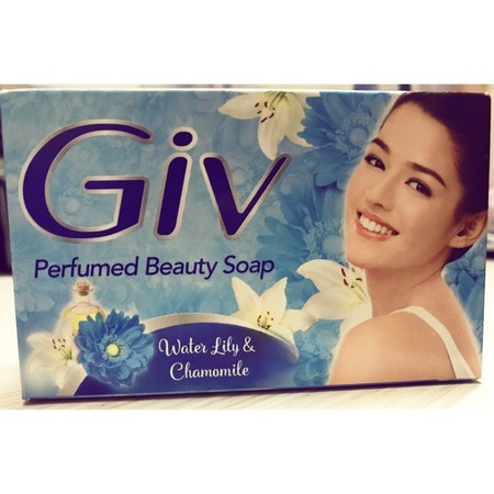 Giv Soap Made With Natural Ingredients Proven To Lighten The Skin Naturally. It Contains Vitamins That Nourish And Keep The Skin Healthy.