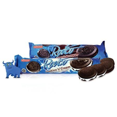 biskuit coklat dengan rasa coklat yang panjang. Rasa manisnya yang pas membuat tidak bisa berhenti makan.