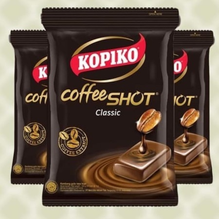 Kopiko candy from the real coffee extract to keeps you awake. Real pocket coffee anytime, anywhere. Kopiko, Keeps you awake!