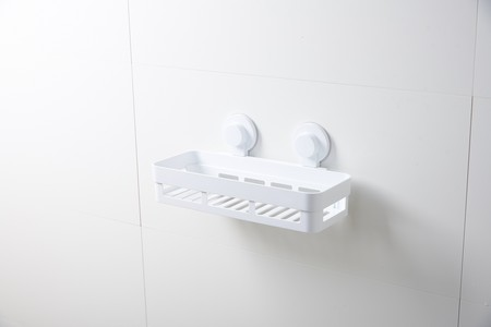 Bathroom Accessories. Bathroom tool rack with ABS + PP HQ material and elegant design. Loads support up to to 4KG (total) High adhesion.