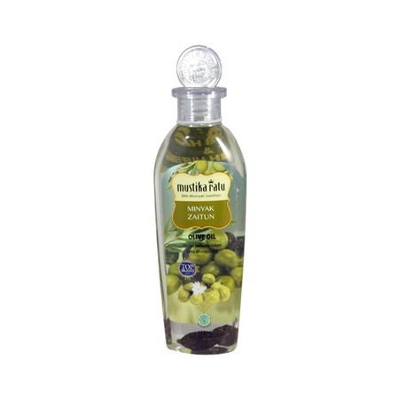 Perawatan kulit yang mengandung ekstrak minyak zaitun. -Melembabkan dan melembutkan secara menyeluruh. -Diperkaya dengan essensial rose dan jasmine oil.