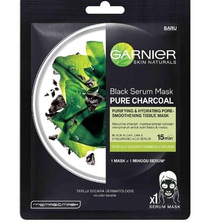 Tissue masker dengan Charcoal yang dikenal dengan kemampuan menyerap & membersihkan kotoran hingga menyeluruh. Ditambah juga dengan Black Algae Extract yang menghaluskan tampilan pori-pori, dan juga LHA, & Hyaluronic Acid, untuk kulit tampak cerah. Manjak