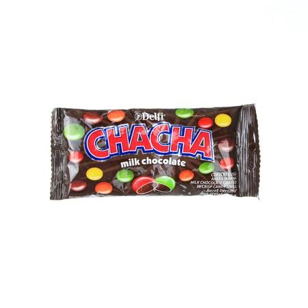 Delfi Cha Cha Milk Chocolate 35Gr Delfi Cha Cha Milk Chocolate 35GrCokelat Yang Dilapisi Permen Dengan Berbagai Warna. Terbuat Dari Bahan Pilihan Dan Diproses Secara Higienis Sehingga Aman Dikonsumsi. Cokelat Yang Dapat Membawa Keceriaan Untuk Anak-Ana