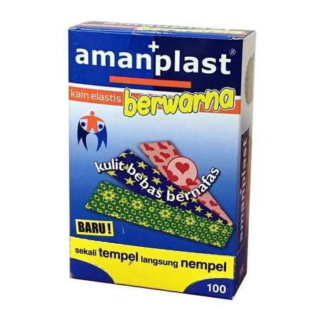 Amanplast adalah produk plester pembalut luka kecil dengan kualitas terbaik, bertekstur lentur atau elastis, permukaan berpori, daya rekat yang baik serta harga terjangkau. Plester yang disajikan memiliki 3 motif. Amanplast sudah hadir di pasaran selama 1