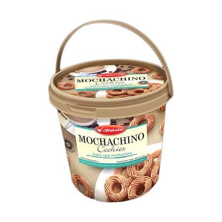 Bucket Kukis rasa Mochachino yang enak dan krunchi ala Biskuit Kokola. Dibuat dari bahan pilihan berkualitas yang aman dikonsumsi. Ideal dinikmati pada saat santai bersama keluarga.