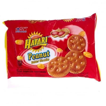 Hatari Peanut Jam Merupakan Cemilan Biskuit Dengan Varian Rasa Krim Yang Nikmat.
