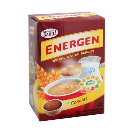 Energen Cereal Cokelat [Kotak 5'S/ 30 G] Merupakan Minuman Sereal Yang Memiliki Kandungan Susu Bergizi Yang Mengandung Berbagai Macam Vitamin Yang Sangat Bagus Untuk Tubuh Anda. Minuman Sereal Ini Sangat Cocok Anda Konsumsi Di Pagi Hari Sebagai Sarapan Di