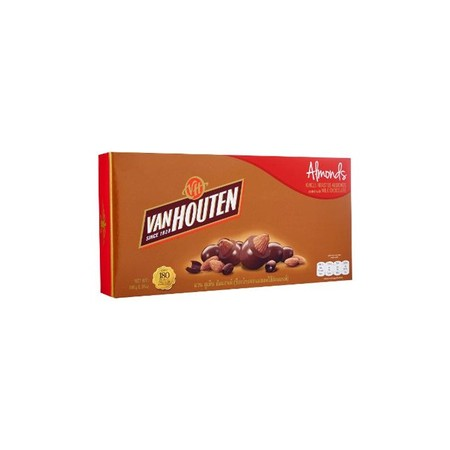 Van Houten Box Almond 90gr merupakan coklat premium yang lezat. Sangat praktis untuk dikonsumsi dan memiliki nilai gizi yang tinggi.
