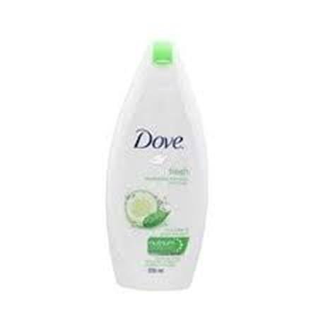 Dove Go-Fresh Fresh Touch Body Wash Sensasi Ringan Dan Segar Paduan Keharuman Cucumber Serta Green Tea Yang Memberikan Momen Istimewa Bagi Kulit Anda Menutrisi Hingga Ke Lapisan Dalam Kulit