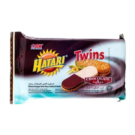 Biskuit Dengan Krim Rasa Vanilla