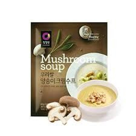 An Instant Powder Soup Product That Helps To Blend Unique Taste With The Soup As Fresh Mushroom, Green Onion And Onion Are Contained In The Soup.