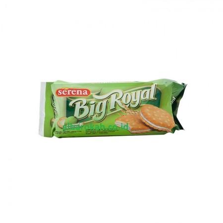 Biskuit vanilla susu dan krim rasa kelapa. Kelezatan tropis yang sensasional.