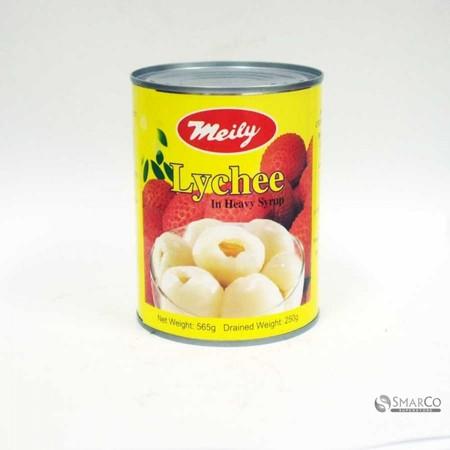 Meily Lychee in Syrup 565 gr merupakan makanan kaleng buah leci yang segar dan kualitas terbaik dengan sirup manis yang menghasilkan rasa yang lebih premium dan lezat.