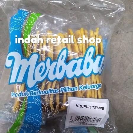 Snack kerupuk dari bahan tempe yang lezat