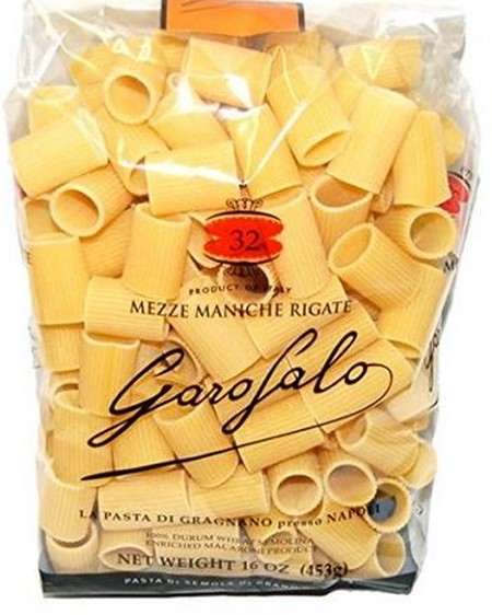 Mezze Maniche Rigate Exalt Even The Thickest Sauces. The External Ridges And The Round Shape Are Perfect For Adhering To Condiments. Garofalo Mezze Maniche Is A Bronze-Drawn Pasta Di Garganano Igp (Pgi) With A Rough Surface And An Intense Flavour.