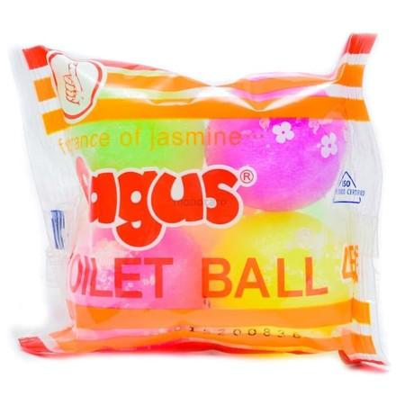 Bagus Color Ball Merupakan Kamper Khusus Untuk Toilet, Dengan Wangi Kamper Yang Kuat, Membantu Menghilangkan Bau Tidak Sedap Dan Melindungi Area Toilet Dari Penjamuran,  Selling Point: - Wangi Original Kamper Membantu Menghilangkan Bau Tidak Sedap Di Toil