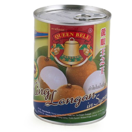 Stuffed Longan in Syrup. Origin: Thailand