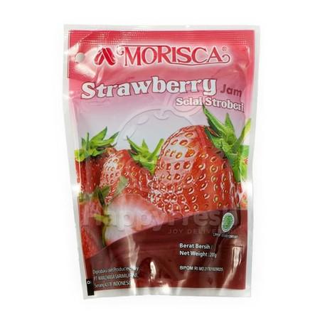 Morisca Strawberry Jam 200 Gr Kemasan Botol. Pilihlah Selai Dengan Kualitas Baik Saat Memilih Selai Untuk Dibeli, Ada Baiknya Anda Meneliti Pemanis Apa Yang Digunakan. Anda Bisa Menemukan Selai Buah Yang Menggunakan Gula Maupun Tidak. Jenis Pemanisnya Pun