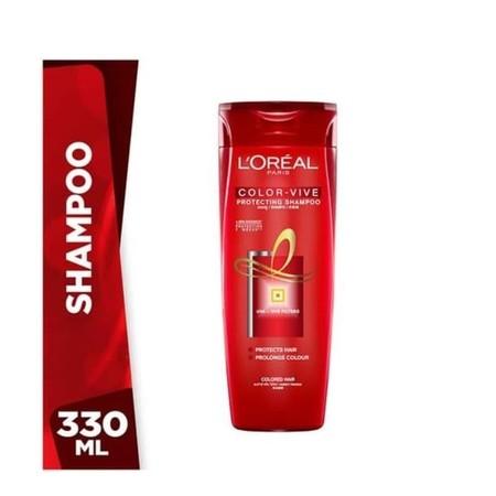 Shampoo Khusus Untuk Rambut Yang Diwarnai. Color Protect 7 Weeks Memberikan Perlindungan Warna Rambut Hingga 7 Minggu*. Warna Rambut Indah, Tampak Berkilau.  Kilau Warna +85%**  Diformulasikan Khusus Untuk Rambut Yang Diwarnai  Memberikan Perlindungan