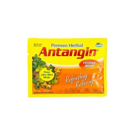 Antangin permen adalah produk dari Delto Med dengan produk khasnya Antangin JRG. Antangin dibuat dari jahe, madu dan tumbuhan mint terutama bahan bahan alami dari Sumber Alam Indonesia yang berkualitas terbaik digabungkan dengan alat-alat canggih di labor