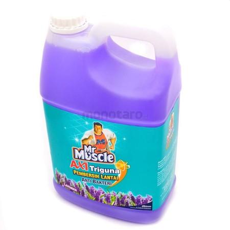 Mr. Muscle Axi Triguna Lavender Pouch 800 Ml. Pada Umumnya, Orang Tua Selalu Ingin Memiliki Rumah Yang Bersih, Bebas Dari Kuman Dan Bakteri. Selain Akan Menjaga Dan Melindungi Kesehatan Keluarga, Rumah Bersih Juga Akan Membuat Penghuninya Menjadi Sehat. K