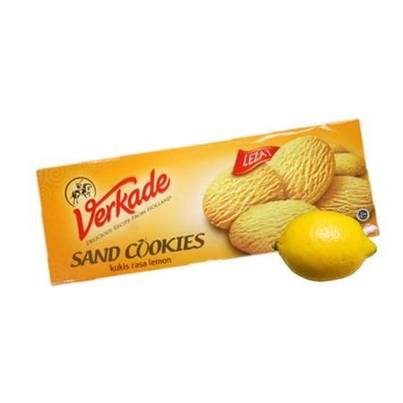 Verkade Sand Cookies Lemon Merupakan Biskuit Rasa Lemon