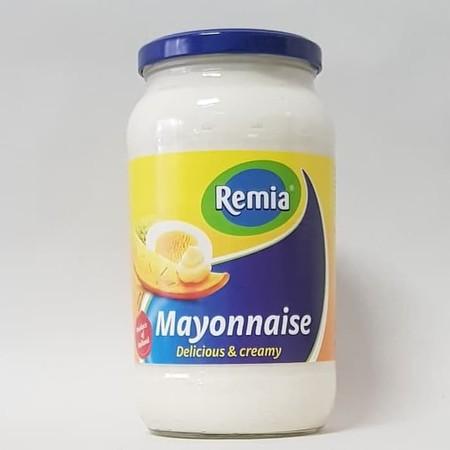 REMIA MAYONNAISE dibuat dengan bahan-bahan sederhana, berkualitas, seperti telur, minyak canola, dan cuka, untuk rasa yang kaya, lembut, sehat dan nikmat. Ini tidak mengandung lemak trans dan rendah lemak jenuh dan kolesterol. Digunakan sebagai spread, at