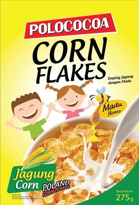 Hanya Untuk Kamu Pecinta Sereal Corn Flakes, Polococoa Memberikan Pilihan Terbaik Untuk Anda. Mengapa Terbaik? Polococoa Corn Flakes Memberikan Kualitas Corn Flakes Yang Lebih Baik Karena Terbuat Dari Jagung Asli Berkualitas Dari Polandia Dan Tanpa Menggu