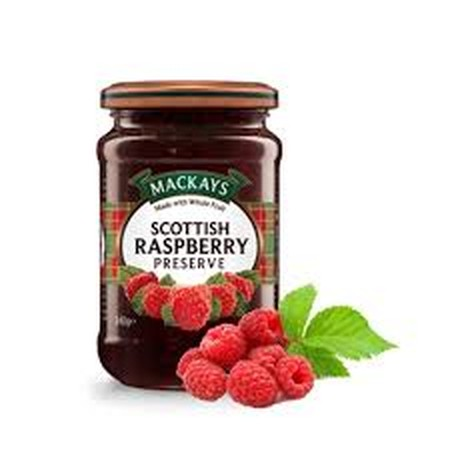 Made With Raspberries Grown In The Berry Fields Of Eastern Scotland. Wonderful Spread Thickly Over Hot Toast. Raspberry Jam Ingredients: Sugar, Scottish Raspberries, Gelling Agent: Fruit Pectin, Acidity Regulator: Citric Acid.