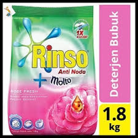 Rinso Molto Deterjen Bubuk Rose FreshKini hadir dengan teknologi SmartFoam, busa lebih cepat hilang saat membilas, menghemat hingga setengah air bilasan. Dengan formulasi anti noda, cepat menghilangkan noda membandel hanya dengan 1X kucek! Memberikan keha