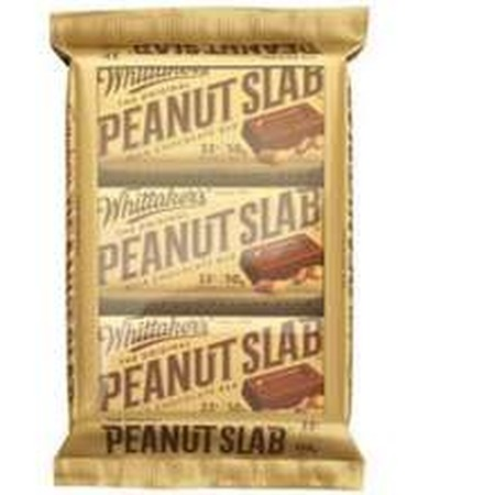 Our iconic, original Peanut Slab recipe! Crunchy roasted peanuts surrounded by our smooth 33% cocoa Creamy Milk chocolate.