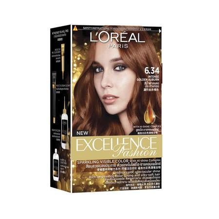 L'Oreal Paris Excellence Creme Hair Color, Pewarna Rambut Dengan Triple-Care Protection, Sebuah Formula Yang Diperkaya Dengan Ceramide, Pro-Keratin, Dan Collagen Yang Membantu Merawat, Melindungi, Dan Menutrisi Rambut. L'Oreal Paris Excellence Crme Dapat
