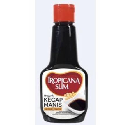 TROPICANA SLIM Soy Sauce merupakan produk kecap asin rendah kalori persembahan dari dari TROPICANA SLIM. Kecap ini mengandung 30% lebih rendah garam, dan baik untuk mencegah tekanan darah tinggi. Kecap asin ini juga Aman untuk penderita hipertensi serta b