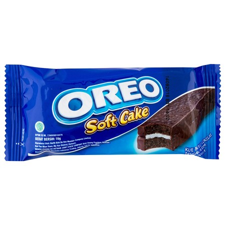 OREO Soft Cake Vanila 16g adalah varian terbaru OREO Indonesia dalam bentuk bolu lembut berlapis krim coklat dan krim vanila lezat di tengahnya. Rasanya yang manis dan teksturnya yang begitu lembut menjadikan OREO Soft Cake ini penghangat suasana yang pas