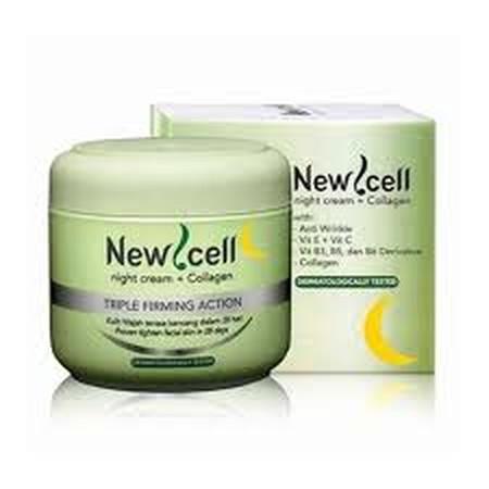Cream malam dengan bahan aktif yang teruji dermatology tested oleh ilmuan prancis, dapat membuat kulit terasa kencang dan putih sehat dalam 28 hari. Cream yg mudah menyerap, tidak berminyak, tidak lengket dan ringan dikulit sehingga Newcell Night Cream Co