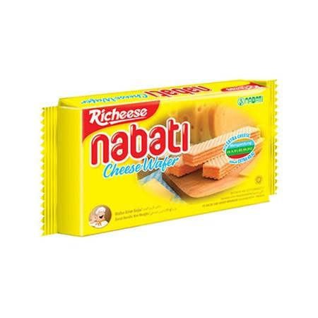 Nabati adalah Wafer renyah dan ringan dengan krim yang sangat terasa. Nabati merupakan pilihan makanan ringan yang lebih sehat karena mengandung vitamin (A, B1, B2, B6, B12) dan cocok untuk dinikmati kapan saja.