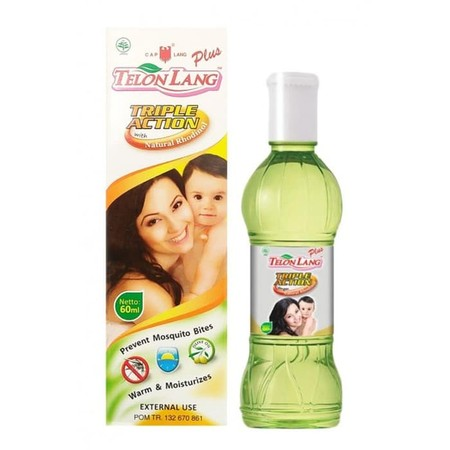 Minyak Telon Baik Digunakan Untuk Menjaga Kehangatan Tubuh Bayi, Membantu Meredakan Perut Kembung, Masuk Angin, Dan Mencegah Gigitan Nyamuk Serta Digunakan Sebagai Minyak Pijat Untuk Bayi.