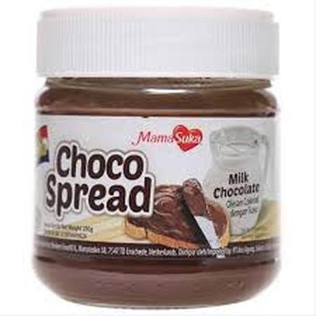Mamasuka Miik Choco Spread Adalah Selai Untuk Topping Roti Atau Makanan Dengan Rasa Coklat Hazelnut