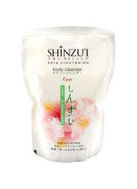 Shinzui Body Cleanser Kirei 450Ml Adalah Sabun Cair Yang Dapat Membersihkan Dan Mencerahkan Kulit Secara Alami Dan Lebih Efektif. Sabun Cair Dari Jepang Ini Diperkaya Dengan Herba Matsu Oil, Bahan Pemutih Yang Mencerahkan Kulit Dengan Membentuk Leuko-Mela