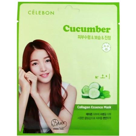 Cucumber Timun Collagen Esse Mask 2 Soothing Moisturizing Timun Meredakan Iritasi Terhadap Kulit Dan Menurunkan Efek Panas Sehingga Timun Dapat Membantu Untuk Menormalkan Kulit  Cara Pemakaian Keluarkan Lembaran Masker Dan Buka Lipatannya Pertama Letakan