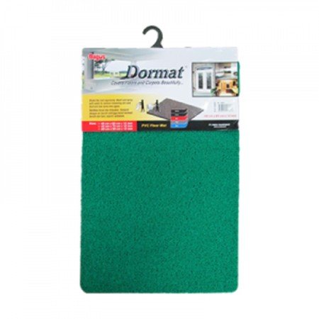 Bagus Dormat (40 x 60 cm) [W-16018] doormat synthetic material with soft and thick texture. Anti-slip mat and easy to clean from dust and other dirt, and has 3 color variants. Easy to clean, just turn the mat over and spray with clean water. Suitable for maintaining cleanliness inside or outside of your home and office.  Thick design, soft, and anti-slip  Suitable for inside or outside room