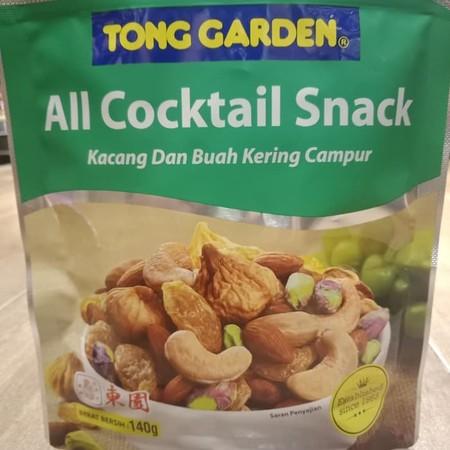 Tong Garden All Natural Cocktail Snack 140gr adalah camilan lezat dan alami yang berupa campuran kacang-kacang natural yang sehat kaya akan protein dan lemak nabati. Tidak mengandung bahan pengawet dan bebas dari asam lemak trans. Menggunakan bahan-bahan