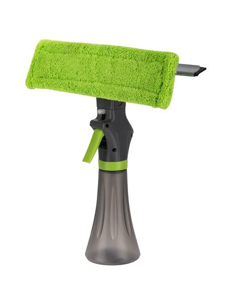 Pembersih kaca 3in1 Spray, karet pembersih kaca dan spons